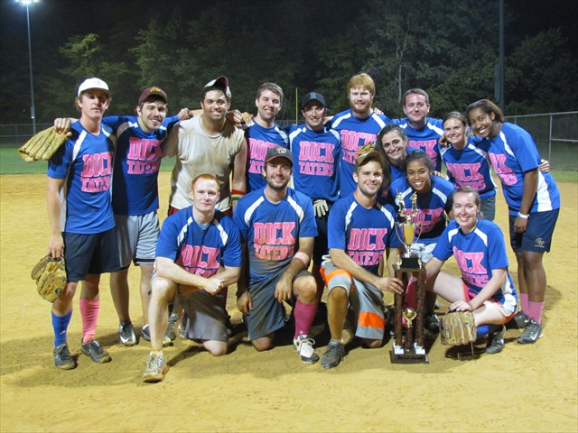 2013 Champions: DICK TATERS team