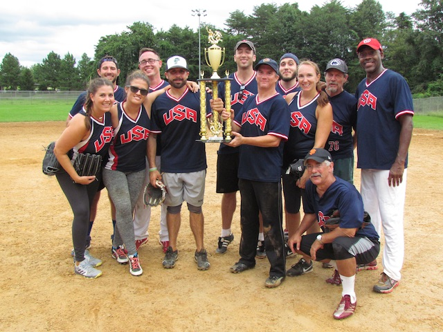 The 2018 Runners-up: US National Recreational Softball Team